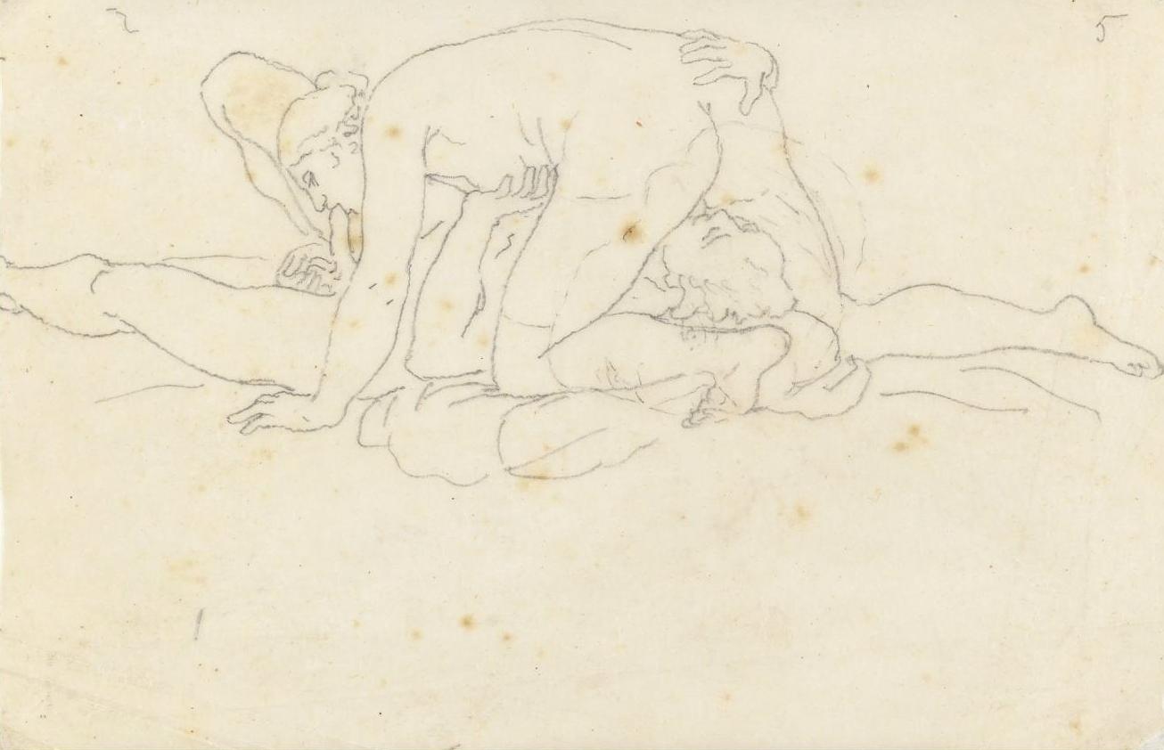 Эротические рисунки графика, Эротические рисунки девушек и женщин - голые картинки 17 фотография